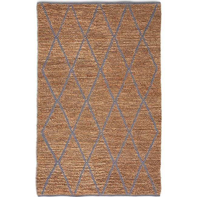 Rugs - Larson Area Rug - Natural and Gray