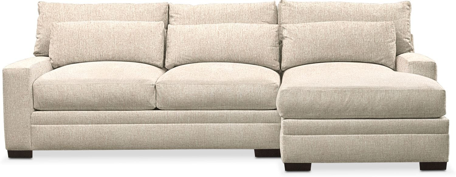 Living Room Furniture - Winston Performance 2-Piece Sectional