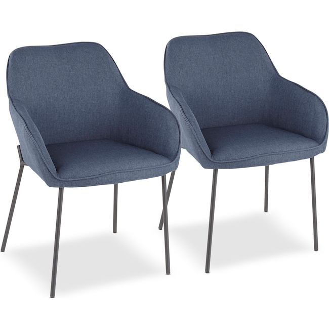 Dining Room Furniture - Liv Set of 2 Dining Chairs