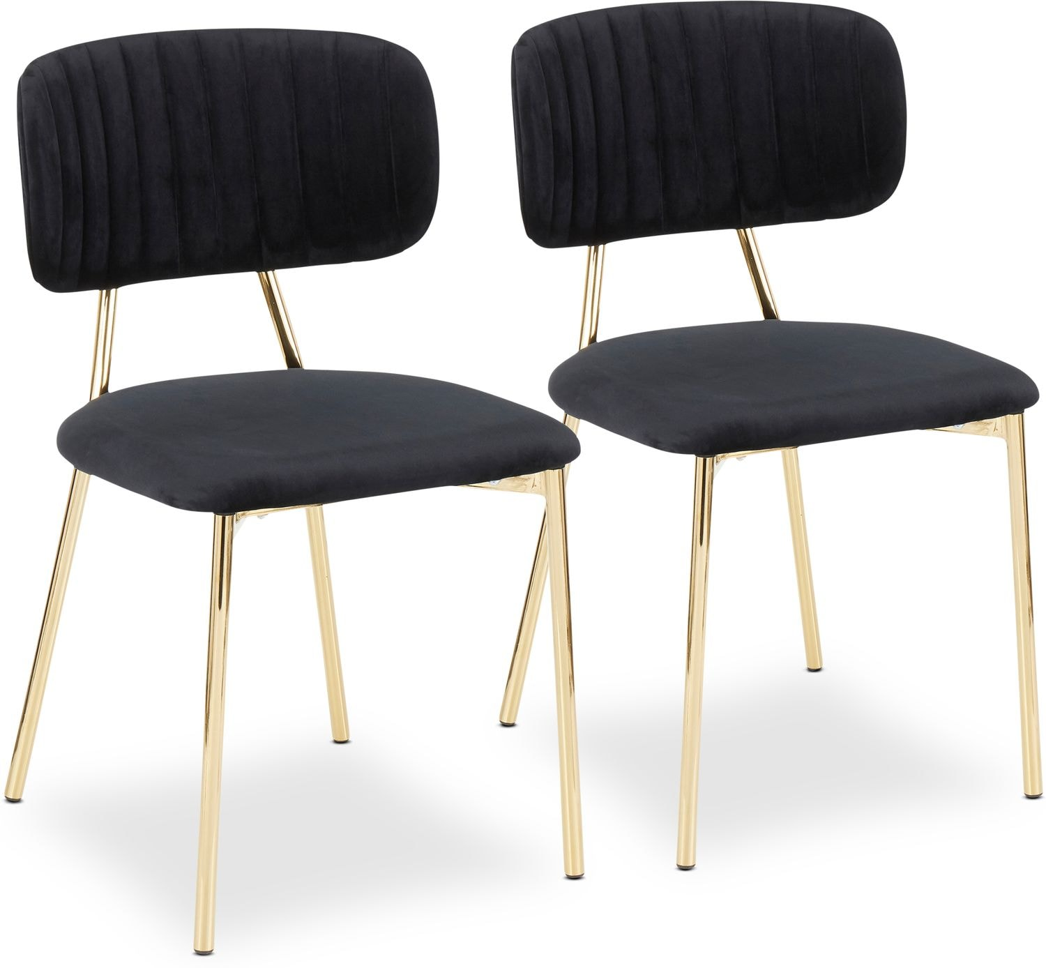 Dining Room Furniture - Ivy Set of 2 Dining Chairs