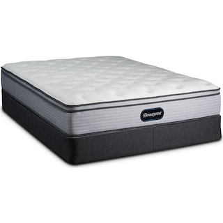 BR800 Soft Queen Mattress and Low-Profile Split Foundation
