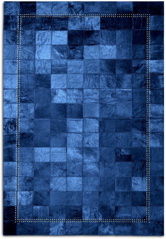 Rugs - Rhys Area Rug - Blue
