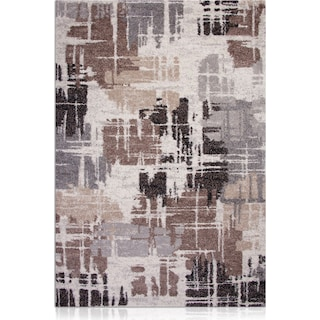 Granada Area Rug - Brown and Gray
