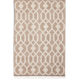 Tones Area Rug - Natural and Ivory