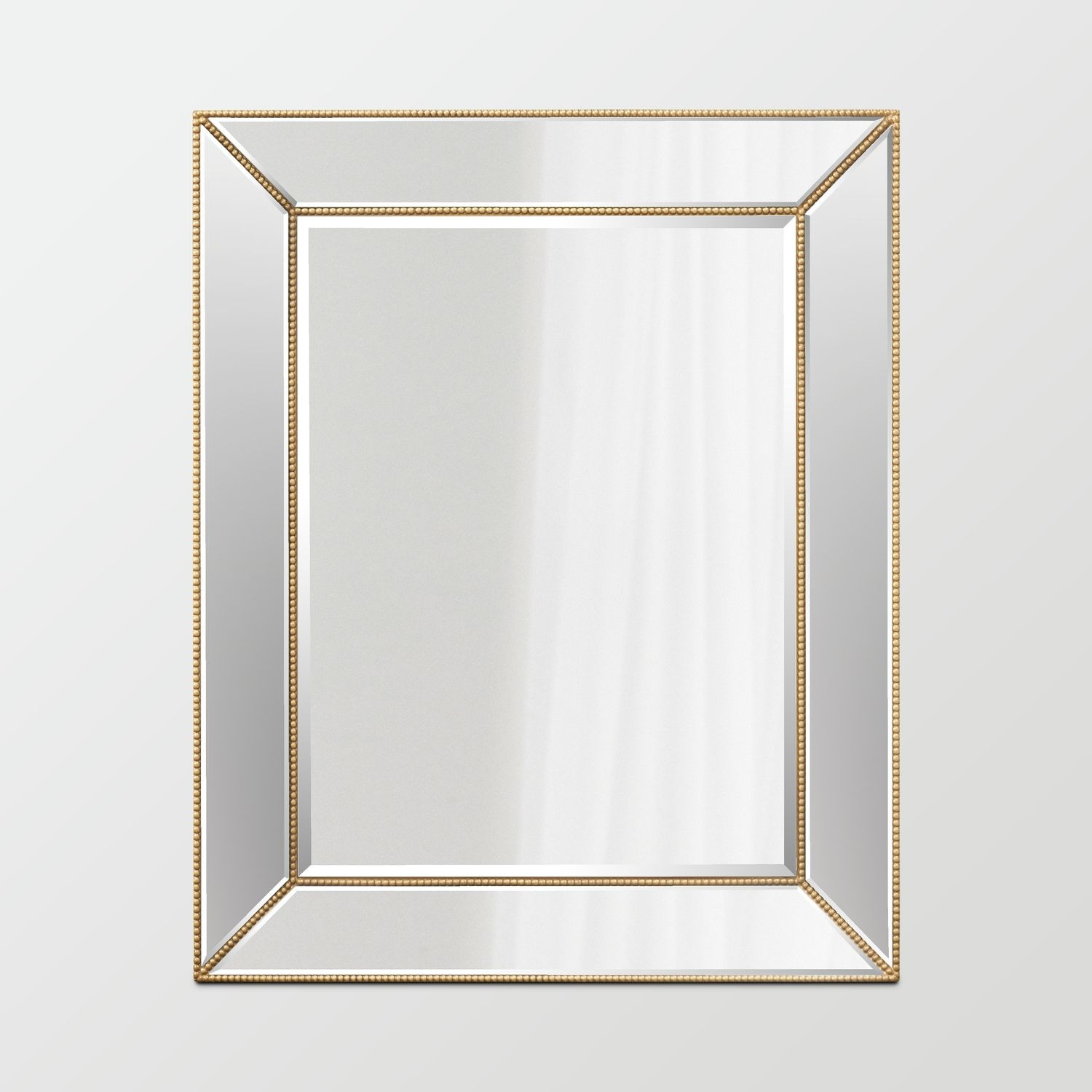 Home Accessories - Beaded Wall Mirror