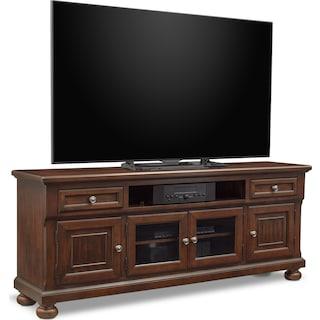 "Hanover 74"" TV Stand - Cherry"