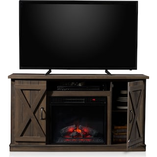 Gablewood Fireplace TV Stand