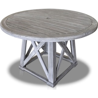 Marshall Outdoor Round Dining Table