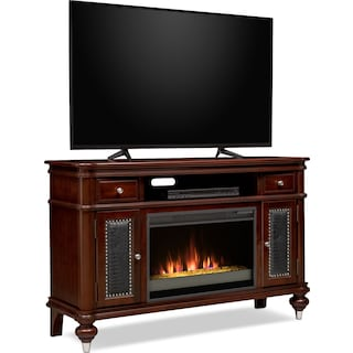 Esquire Fireplace Tv Stand American Signature Furniture