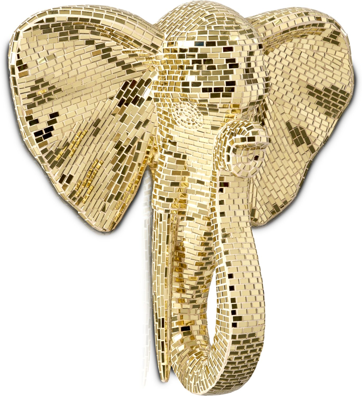 Home Accessories - Elephant Head Wall Art