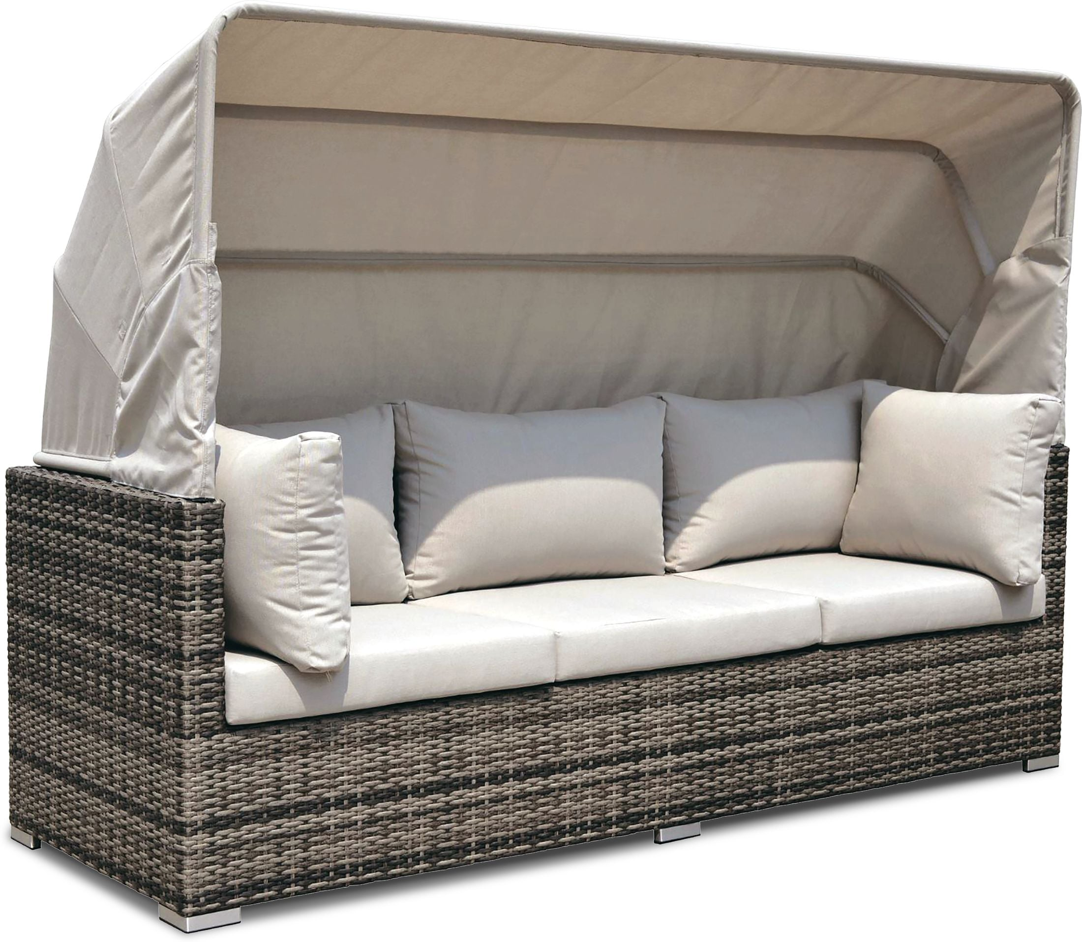 Outdoor Furniture - Gulf Shore Outdoor Convertible Sectional