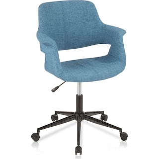 Aiden Office Chair - Blue