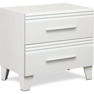Allori Nightstand - White