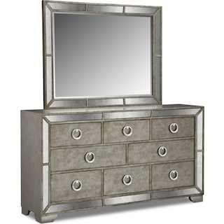 Angelina Dresser and Mirror