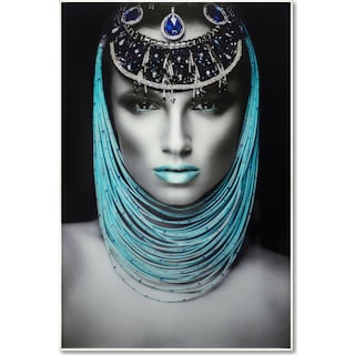 Aqua Queen Wall Art