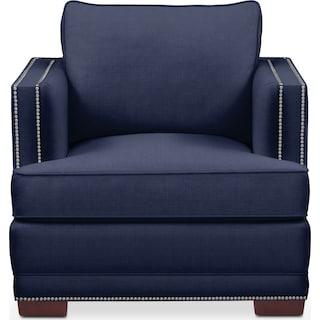 Arden Comfort Chair - Oakley III Ink