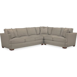 Arden Comfort Performance 2-Piece Large Sectional with Left-Facing Sofa - Benavento Dove