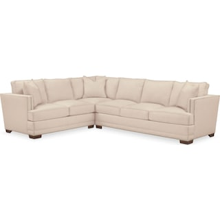 Arden Comfort Performance 2-Piece Large Sectional with Right-Facing Sofa - Halifax Shell