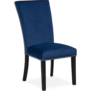 Artemis Upholstered Dining Chair - Blue
