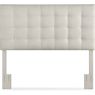 Astrid King Upholstered Headboard - Gray