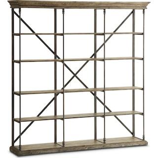 Bedford Triple Bookcase