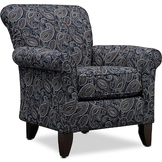 Kingston Accent Chair - Akira Night