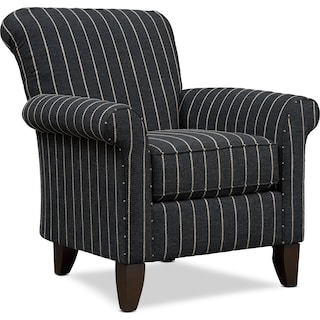 Kingston Accent Chair - Evie Onyx