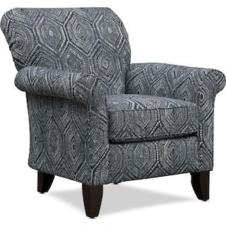 Kingston Accent Chair - Seaton Indigo