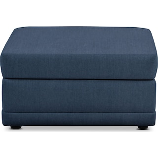 Berkeley Performance Ottoman - Peyton Navy
