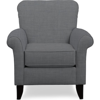Kingston Accent Chair - Milford II Charcoal