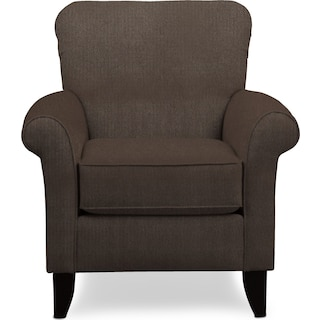 Kingston Accent Chair - Weddington Charcoal
