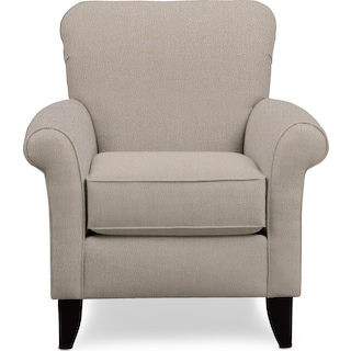 Kingston Accent Chair - Weddington Cement