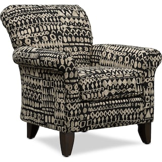 Kingston Accent Chair - Habbot Onyx