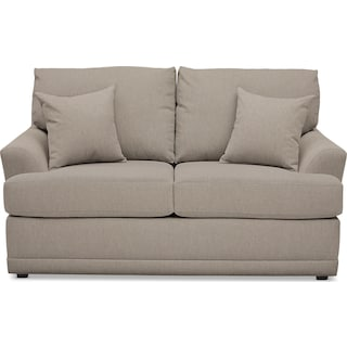 Berkeley Performance Loveseat - Benavento Dove