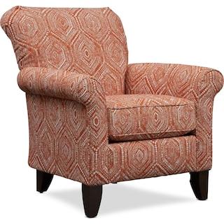 Kingston Accent Chair - Seaton Tangelo