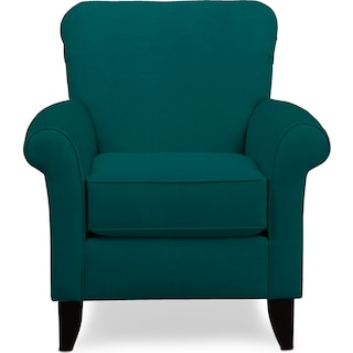 Kingston Accent Chair - Toscana Peacock