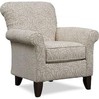 Kingston Accent Chair - Aruba Linen