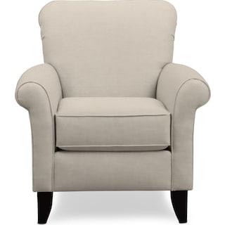 Kingston Accent Chair - Curious Pearl
