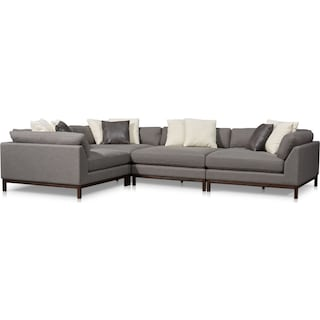 Big Sur 4-Piece Sectional - Smoke