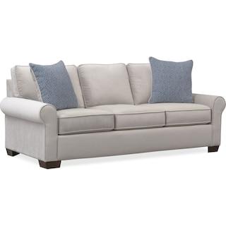 Blake Queen Memory Foam Sleeper Sofa - Gray