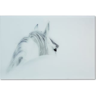 Blanco Mane Horse Wall Art