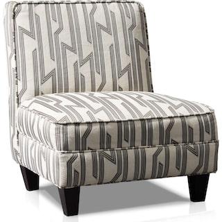 Burton Accent Chair - Cream