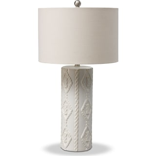 Cable Knit Table Lamp