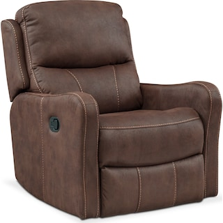 Cabo Manual Glider Recliner - Brown