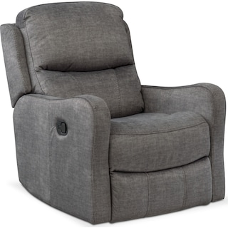 Cabo Manual Glider Recliner - Gray