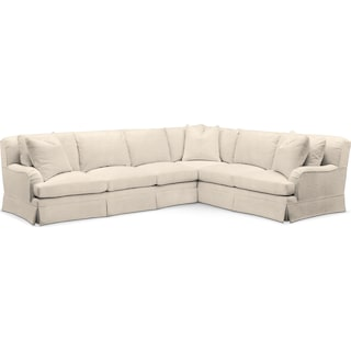 Campbell Cumulus 2-Piece Large Sectional with Left-Facing Sofa - Curious Pearl