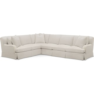 Campbell Cumulus 2-Piece Large Sectional with Right-Facing Sofa - Anders Ivory