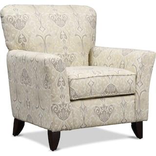 Carla Accent Chair - Beige