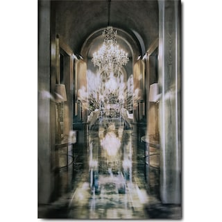 Chandelier Alley Wall Art