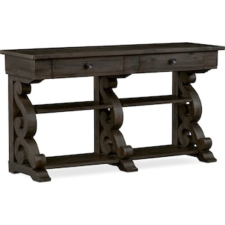 Charthouse Sofa Table - Charcoal